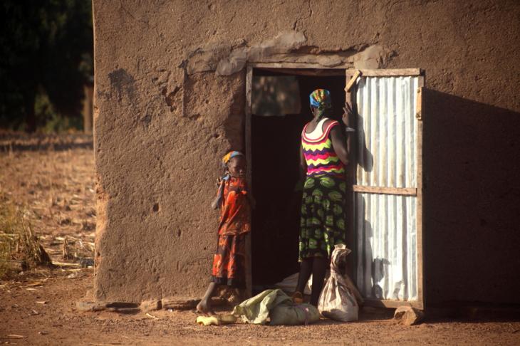 Burkina Faso - Falaise du Gobnangou 070