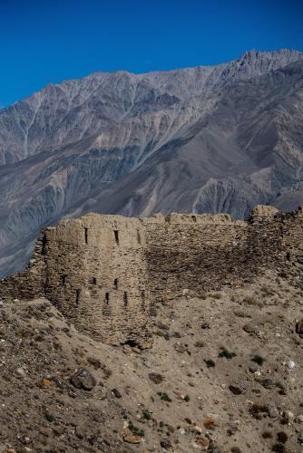 Tajikistan 072 - Wakhan valley - Yamchun fort
