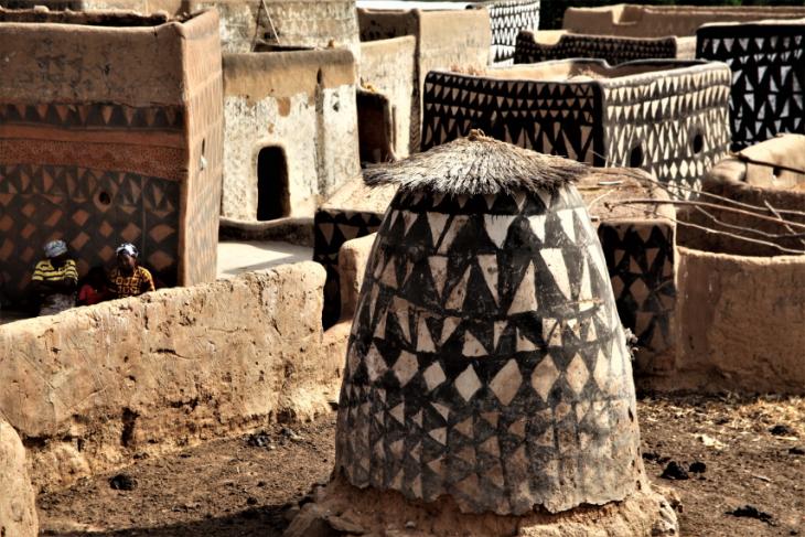 Burkina Faso -Tiebele 072 - Village in the sourroundings