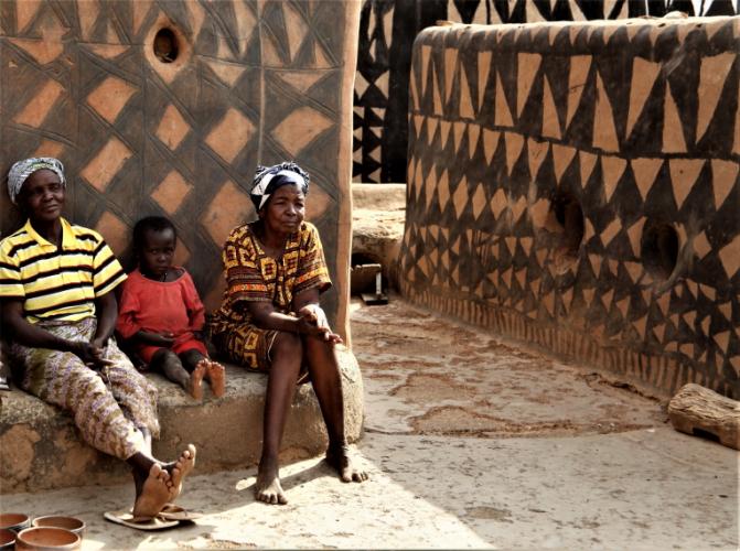 Burkina Faso -Tiebele 073 - Village in the sourroundings