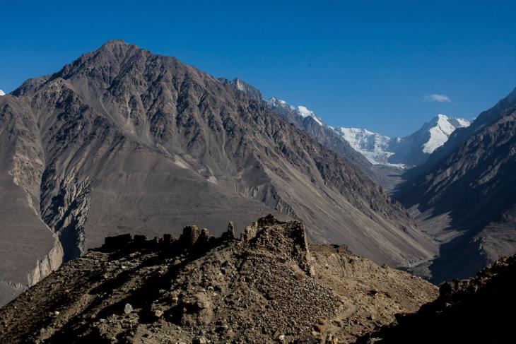 Tajikistan 074 - Wakhan valley - Yamchun fort