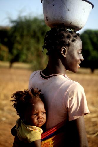 Burkina Faso - Falaise du Gobnangou 074