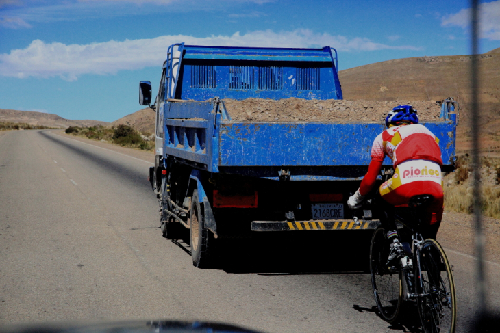 Bolivia - Sucre 074 - On the road back to La Paz