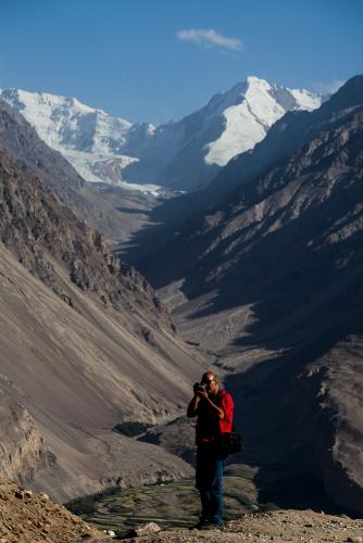 Tajikistan 075 - Wakhan valley - Yamchun fort