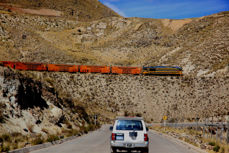 Bolivia - Sucre 075 - On the road back to La Paz