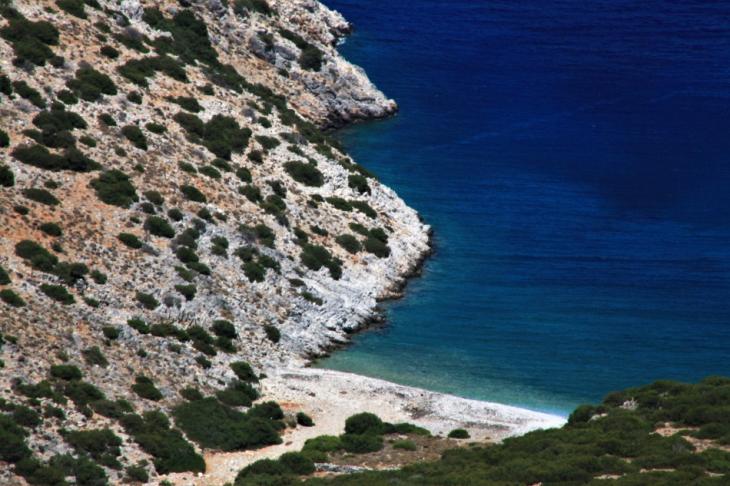 Greece - Astypalaia 075 - On the road to Vathy - Panagia Poulariani