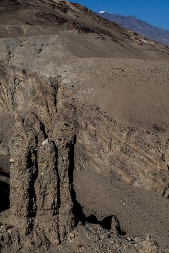Tajikistan 076 - Wakhan valley - Yamchun fort