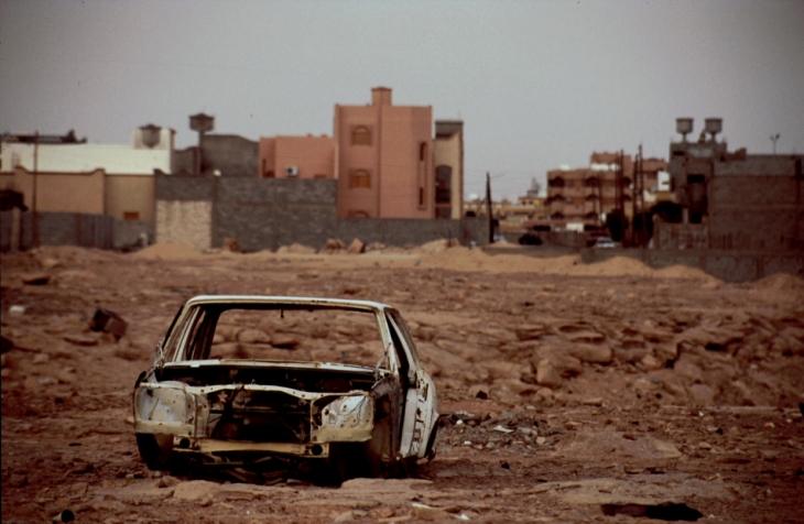 Libya - Ghadames 078 - New city