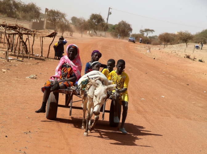 Burkina Faso 079 - On the road to Dori