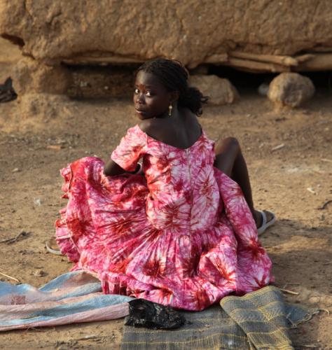 Burkina Faso - Gaoua 080 - Witch doctor's village