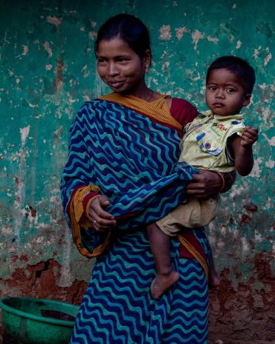 India - Odisha 084 -Bora Paraja village on the way to Rayagada