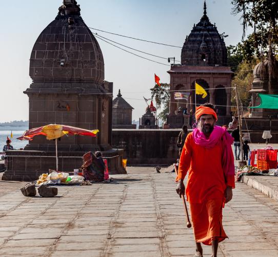 India - Madhya Pradesh - Maheshwar 086