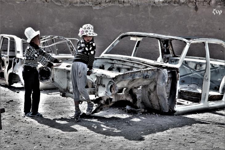 Tajikistan 086 - On the road to Shaymak - Toktomysh village