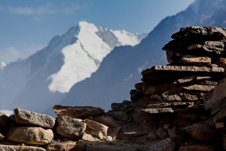 Tajikistan 087 - Wakhan valley - Yamchun fort