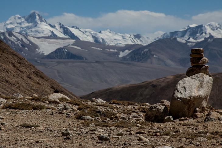 Tajikistan 088 - Wakhan Valley - On the road