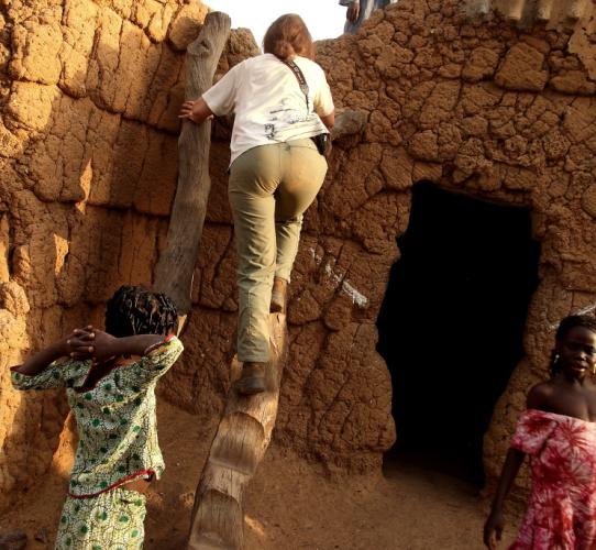 Burkina Faso - Gaoua 090 - Witch doctor's village