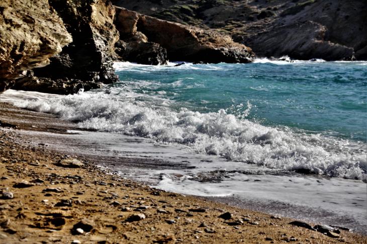 Greece - Amorgos 090 - Kato Meria - Paradisia beach