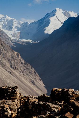 Tajikistan 090 - Wakhan valley - Yamchun fort