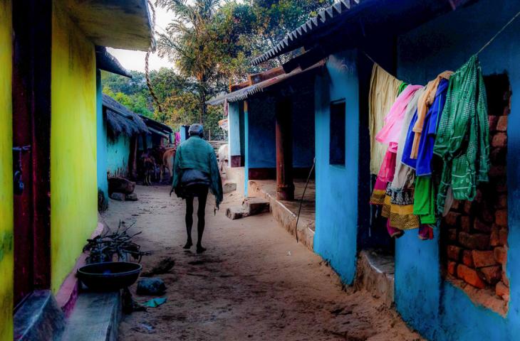 India - Odisha 092 -Bora Paraja village on the way to Rayagada