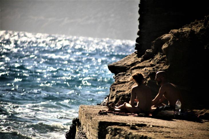 Greece - Amorgos 096 - Kato Meria - Paradisia beach