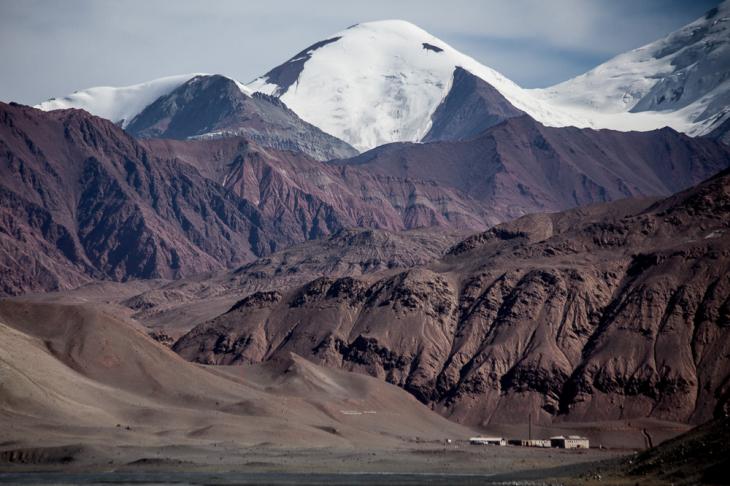 Tajikistan 097 - On the road from Karakul to the border with Kyrgyzstan