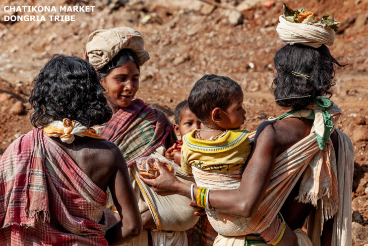 India - Odisha 097 - Chatikona market, Dongria tribe