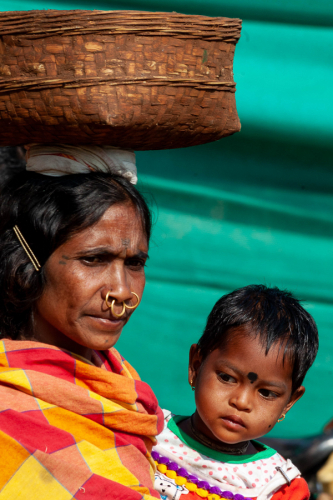 India - Odisha 100 - Chatikona market, Dongria tribe