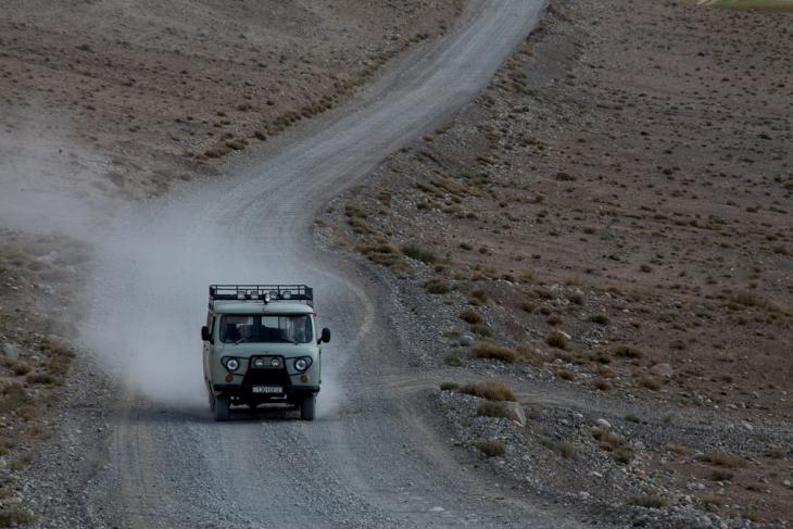 Tajikistan 101 - On the road to Shaymak