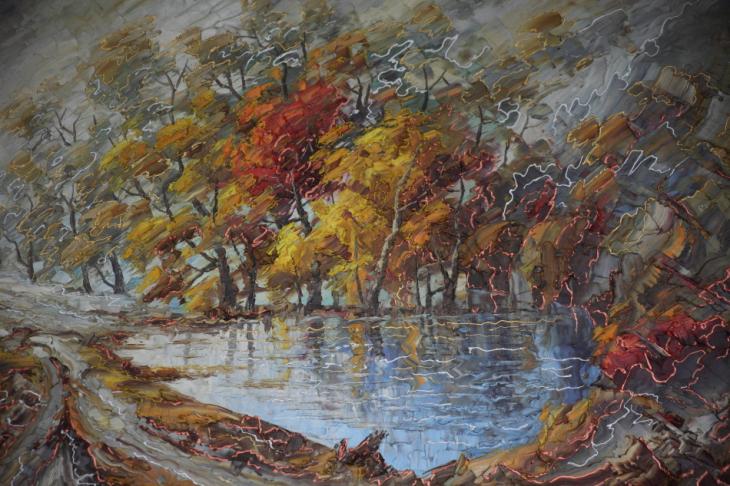 Armenia - Yerevan 103 - Painting exhibition