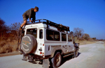 Mozambique - Crossing from Vilanculos to Kruger National Park 008