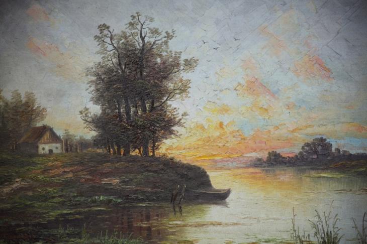 Armenia - Yerevan 104 - Painting exhibition