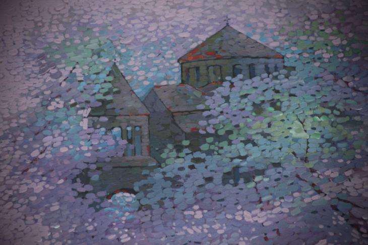 Armenia - Yerevan 107 - Painting exhibition