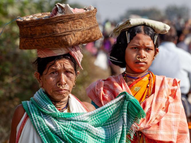 India - Odisha 107 - Chatikona market, Dongria tribe