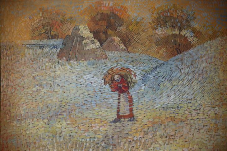 Armenia - Yerevan 108 - Painting exhibition