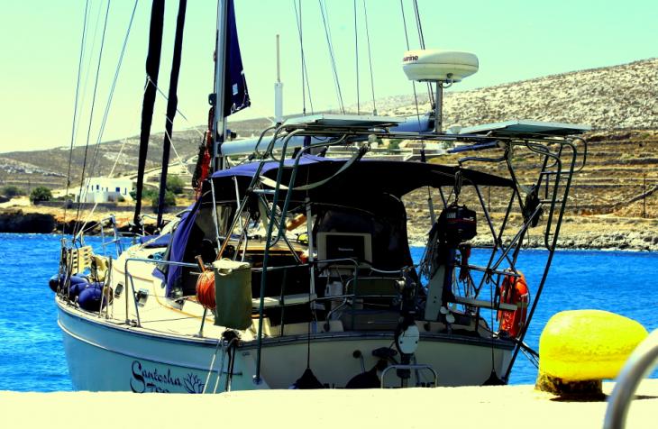 Greece - Folegandros 108 - The port