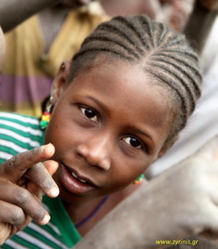 Burkina Faso 029 - Village stop on the way to Aribinda