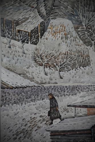 Armenia - Yerevan 109 - Painting exhibition