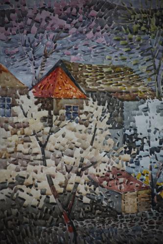 Armenia - Yerevan 110 - Painting exhibition