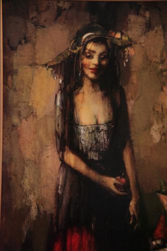 Armenia - Yerevan 112 - Painting exhibition