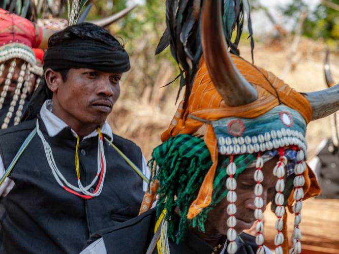 India - Chhattisgarh 120 - Dandami Maria village on the road to Jagdalpur