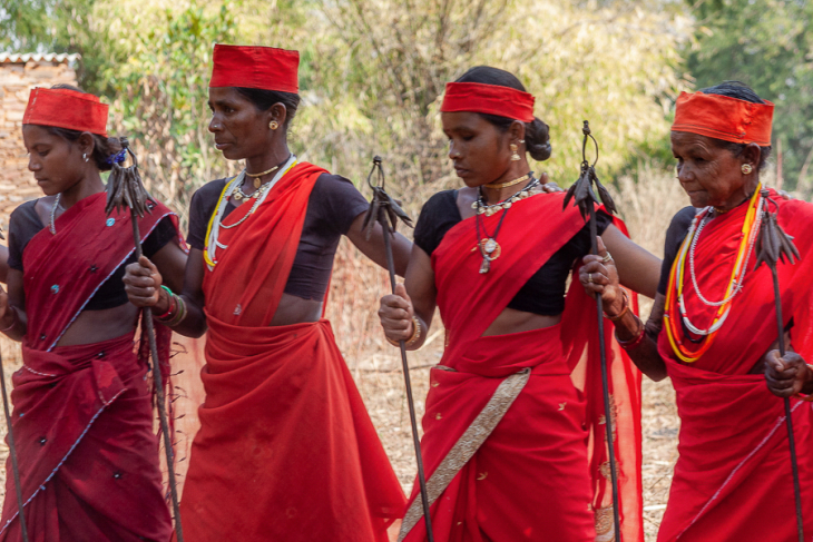 India - Chhattisgarh 122 - Dandami Maria village on the road to Jagdalpur