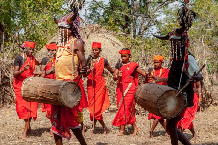 India - Chhattisgarh 123 - Dandami Maria village on the road to Jagdalpur