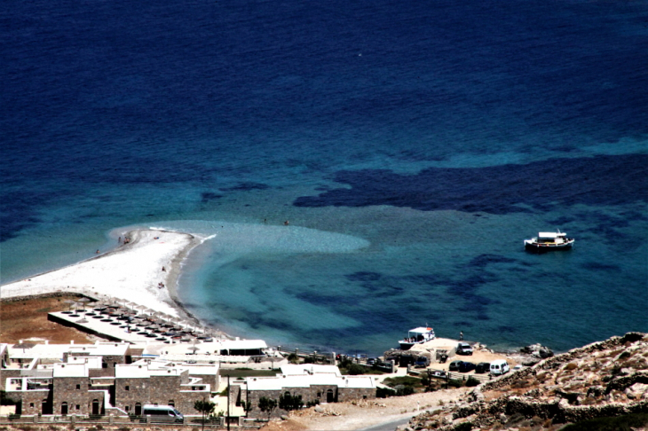 Greece - Amorgos 123 - On the road - Agios Pavlos from above