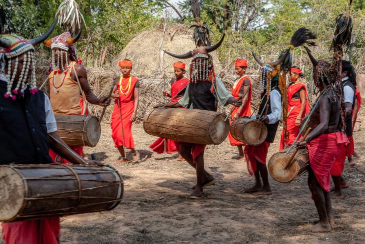 India - Chhattisgarh 127 - Dandami Maria village on the road to Jagdalpur