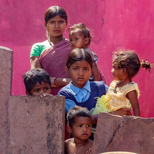 India - Chhattisgarh 128 - Dandami Maria village on the road to Jagdalpur