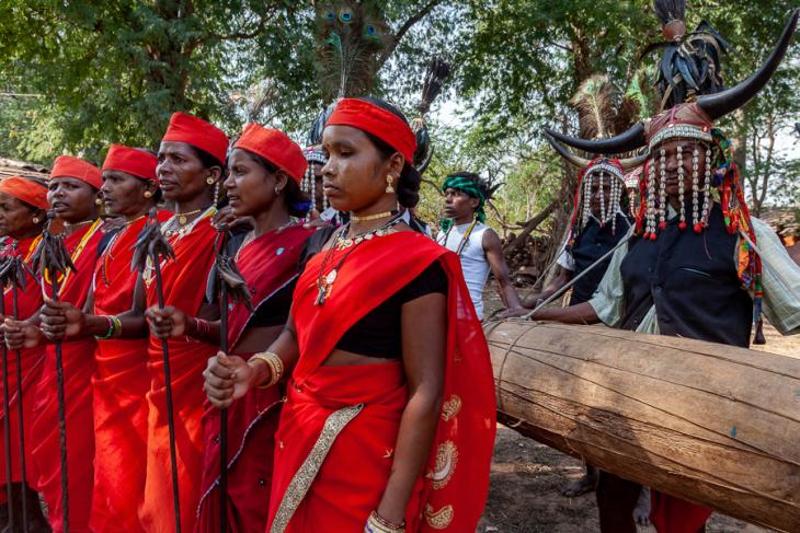 India - Chhattisgarh 133 - Dandami Maria village on the road to Jagdalpur