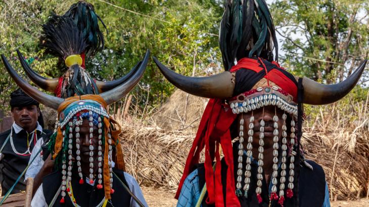 India - Chhattisgarh 136 - Dandami Maria village on the road to Jagdalpur