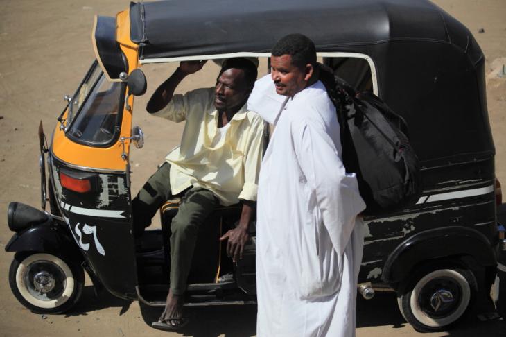 Sudan - Kassala 137 - On the road back to Khartoum