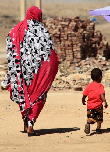 Sudan - Kassala 141 - On the road back to Khartoum