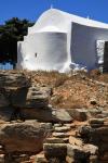 Greece - Amorgos 143 - Arkesini - Archaelogical site of the Tower of Agia Triada